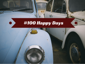 #100 happy days