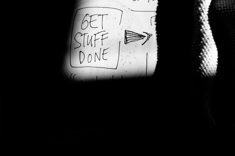 Get Stuff Done.  Matthew Weiner