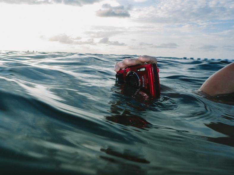 Olympus TG-4 tough underwater camera